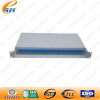 Mini outdoor amp 24 port patch panel