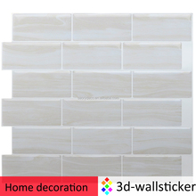 White marble wall art decoration sticker for room wall decor