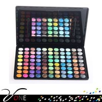 Stock lots cosmetics,mix matte and shimmer 88 color eyeshdow
