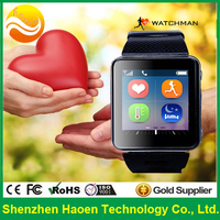Heart Beat Monitor Watch phone with Blood Pressure Measurement Wrist Watch SOS GPS Sleep control Fitness Hand Watch