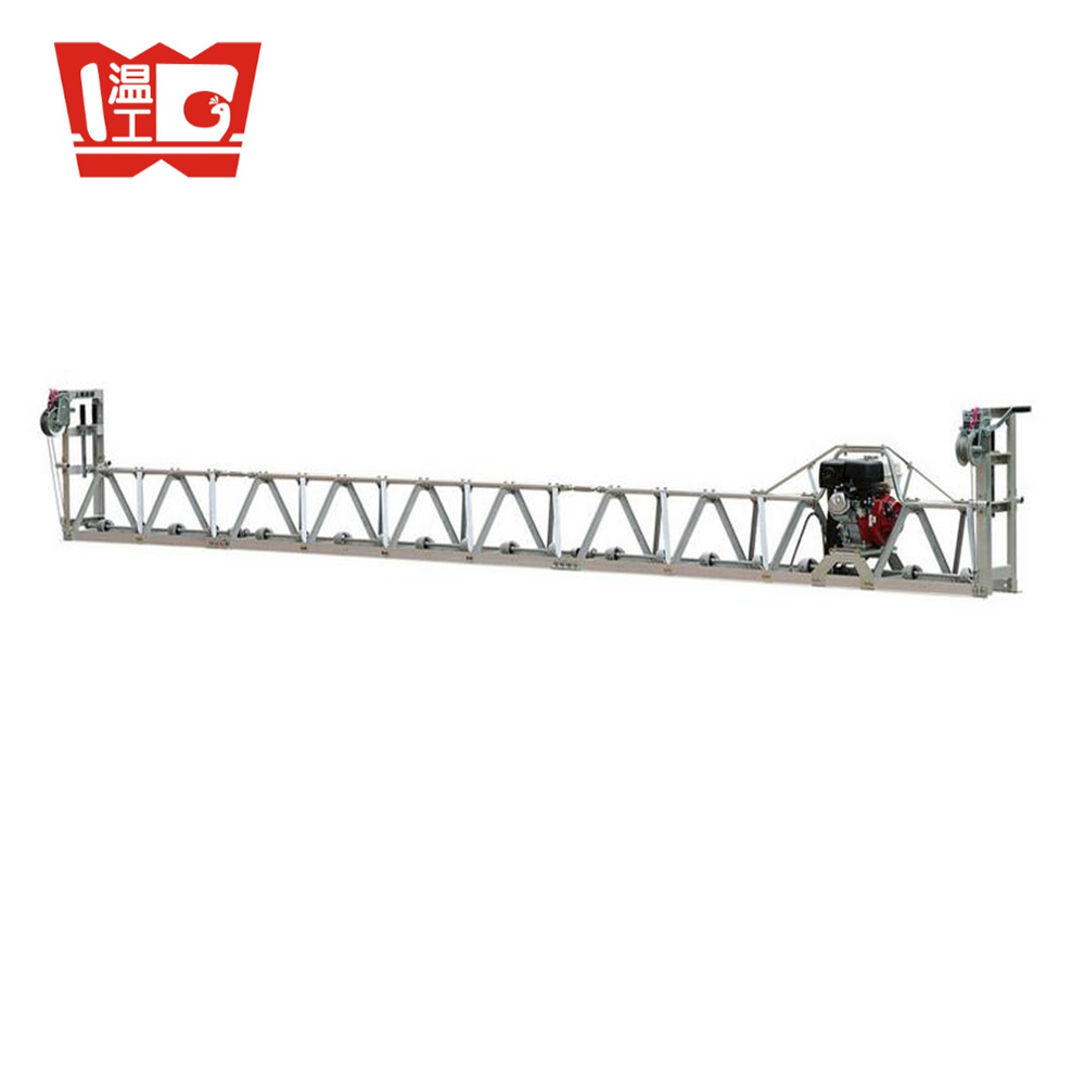 road concrete vibratory truss screed machine vibrating screed with CE