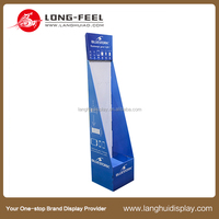 Cardboard display stand/table top counter cardboard display units