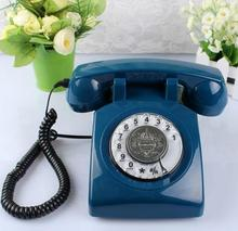 rotary dial old style telephone sim card desk phone