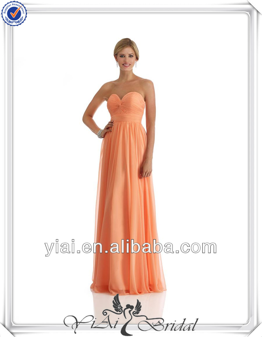 QQ661 Fully fitted torso sparkly peach chiffon homecoming dresses made to measure prom dresses china