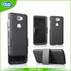 Wholesale rubberized holster combo cell phone case with kickstand for huawei y5II