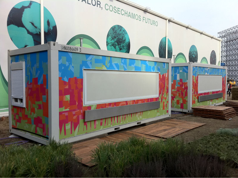 prefabricated house/accommodation container