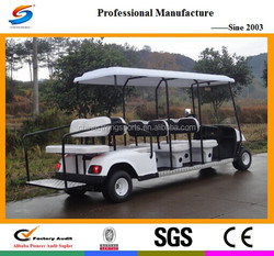 EC013 beautiful golf cart and mitsubishi truck