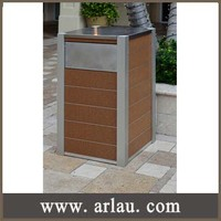 (BW51-1) Outdoor Park Garden Decorative Commercial Garbage Bin Trash Bins Trash Cans