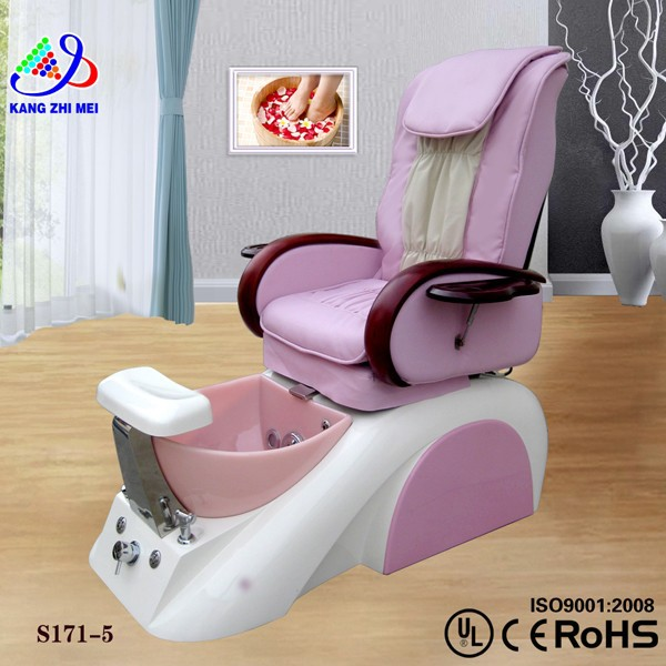 Nail salon furnitures pink pedicure spa chairs for kid 171-5