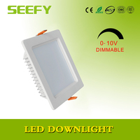 Aluminum Alloy Lamp Body Material and CE,RoHS Certification 20W rectangle led downlight