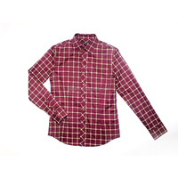 OEM design size High Quality red warm and elegant Custom blouse with high-neck t-shirt men's