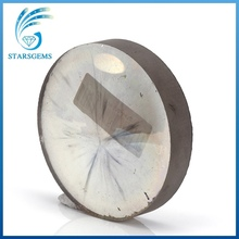 Wholesales high quality China supplier synthetic moissanite rough for jewelry.