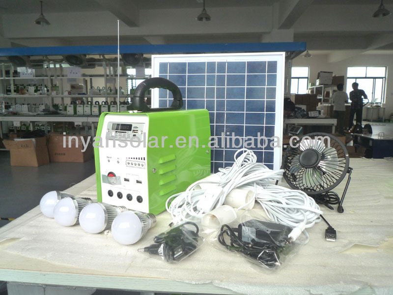 home solar light system 10W ,10W electricity generator