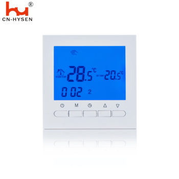 Easy operate weekly programmable thermostat digital display room thermostat HY02B05