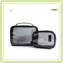 Fashion Printed Transparent Waterproof Custom Clear Travel PVC Toiletry Bag