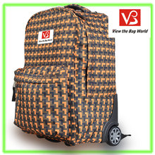 cheapest price good quality trolley bag/ cheapest price laptop backpack >17 inch size trolley laptop bag