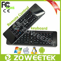 8 Sets Learning channel Remote Control with Air Mouse Keyboard for Smart TV