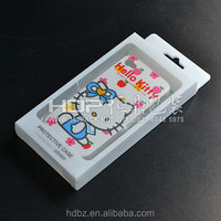 Custom made Plastic cell phone case pack box