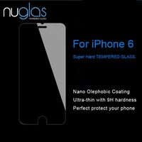 NUGLAS special hot selling plastic screen protector for iPhone 6