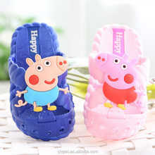 KSK fashion high quality nice washable bedroom slippers cute design baby sandals shoes comfortable eva garden shoes kid Slipper