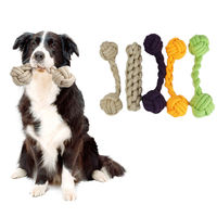 Pet Toy Bone Shape Dog Cat Toy Strong Chew Toys For Dogs Bite