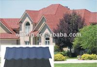 2014 high quality colorful stone coated metal rofing tile/aspirant metal roofing