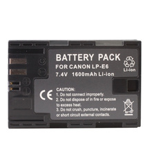 LP-E6 Battery for Canon EOS 5D Mark II(Black)