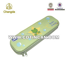 tin box zipper,zipper tin box, tin box with zipper