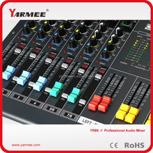 Musical equipment 24 Channels professional audio mixer for sale YM160 --YARMEE