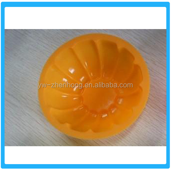 Promotional Creative Pumpkin Shape Silicone Cake Mold