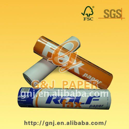 Top Quality Thermal Paper for Fax 210mm