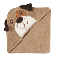 Animal Face Hooded Towel, Dog