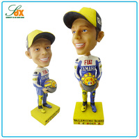 3D Fashionable Customized Funny Sports Football Bobble Head Doll