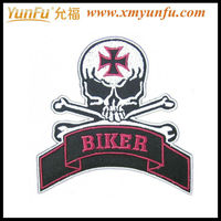 High quality Embroidery Custom large sew on patches