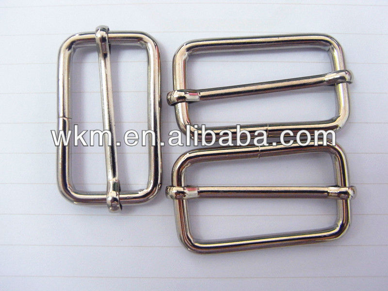 metal adjustable slide buckles