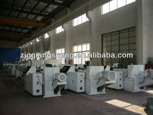 The new UPVC/PVC pipe manufacturing machinery