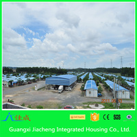 Steel Structure Prefabricated House, Apartment House, Prefab Bungalow