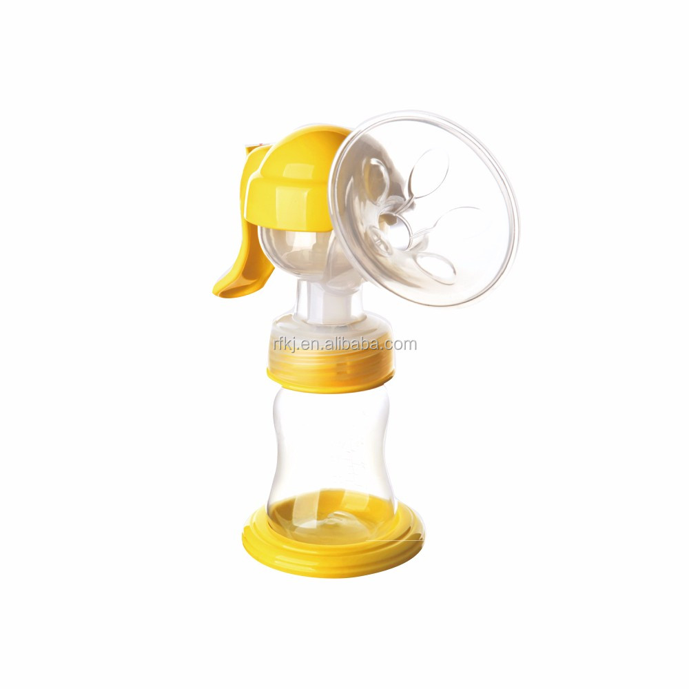 Breastfeeding Pump With Lid Manual Breast Pumps Hands Free Milk Collector Milk Saver