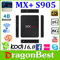 2016 Original And New Box Android 5.1.1 Amlogic S905 Tv Box MX PlusTv Box 1G 8G