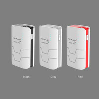 konfulon capsule mini New Design private mould 5000mAh 26650 li-ion cells with LED display remain power from 1% to100%