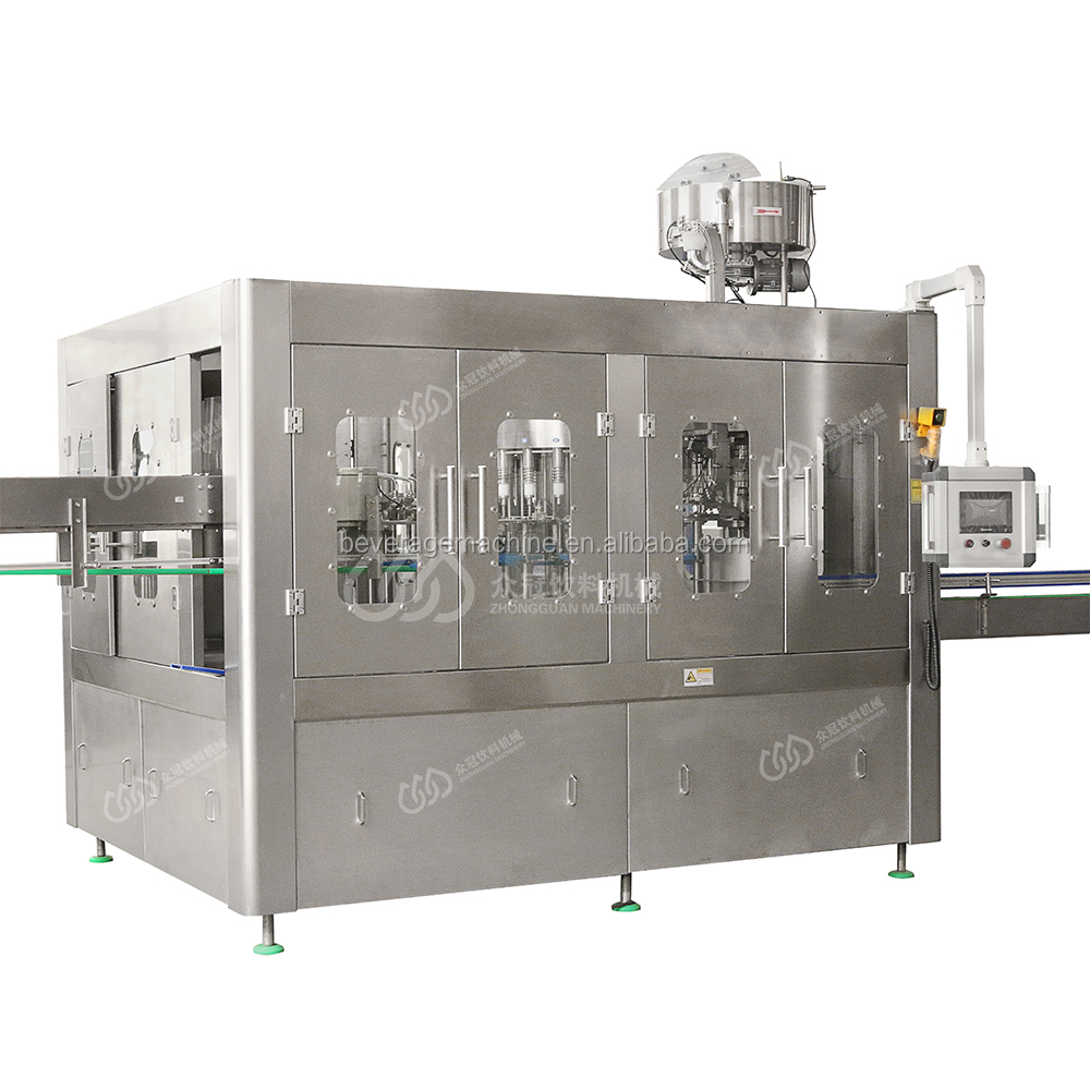 Factory Price  Carbonate Beverage Bottling Machine And Carbonated Water Production Plant