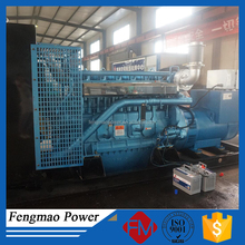 Electric 3 phase 500KW free energy generator by WEICHAI engine