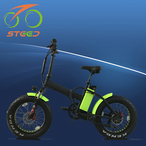 luxurious fat tire lithium folding e bike adult electric motorcycle