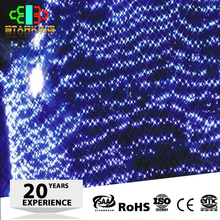Holiday time christmas customized waterprof led net led string lights for outdoor decoration