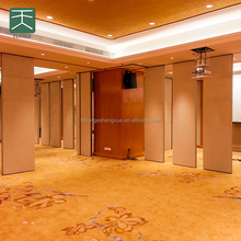 Modern Design Acoustic Movable Partition Walls sliding folding partitions