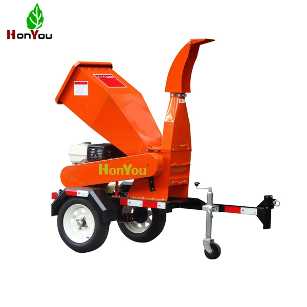 Gasoline motor shredder chipper suitable for branch cutter with 13hp engine