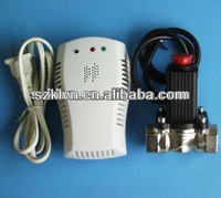 combustible lpg gas leak detector with valve KL-QG07