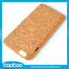 Custom cork wood cell phone case for iphone6 fashion wooden cases for iphone