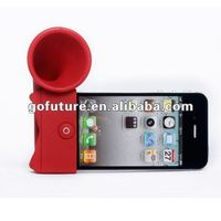 Factory supply silicone louder speaker for iPhone