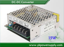 24 Volt to 5 Volt DC DC Converter with different output connector OEM/ customization acceptable
